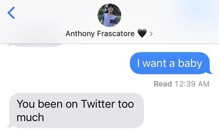 He's onto her.