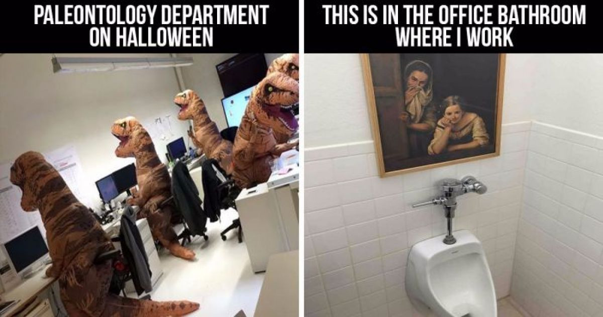 10+ Office Workers Who Are Having Way Too Much Fun Together