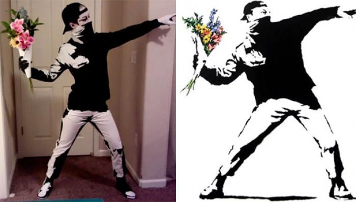 #18 Halloween Banksy
