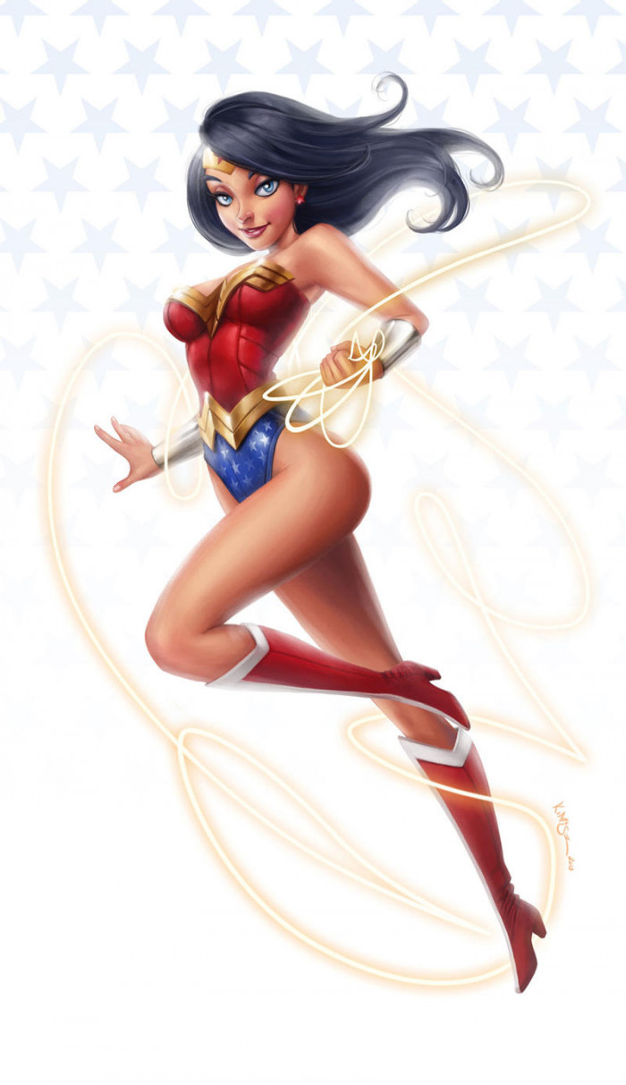 7. Wonder Woman