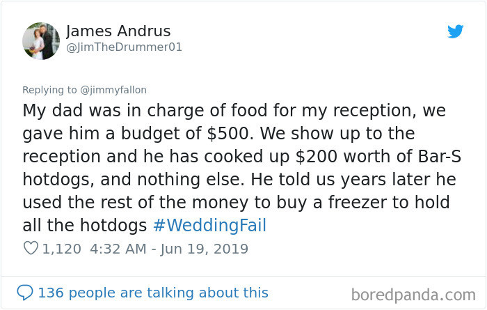 ... Honestly, can you blame him? Freezers are expensive.