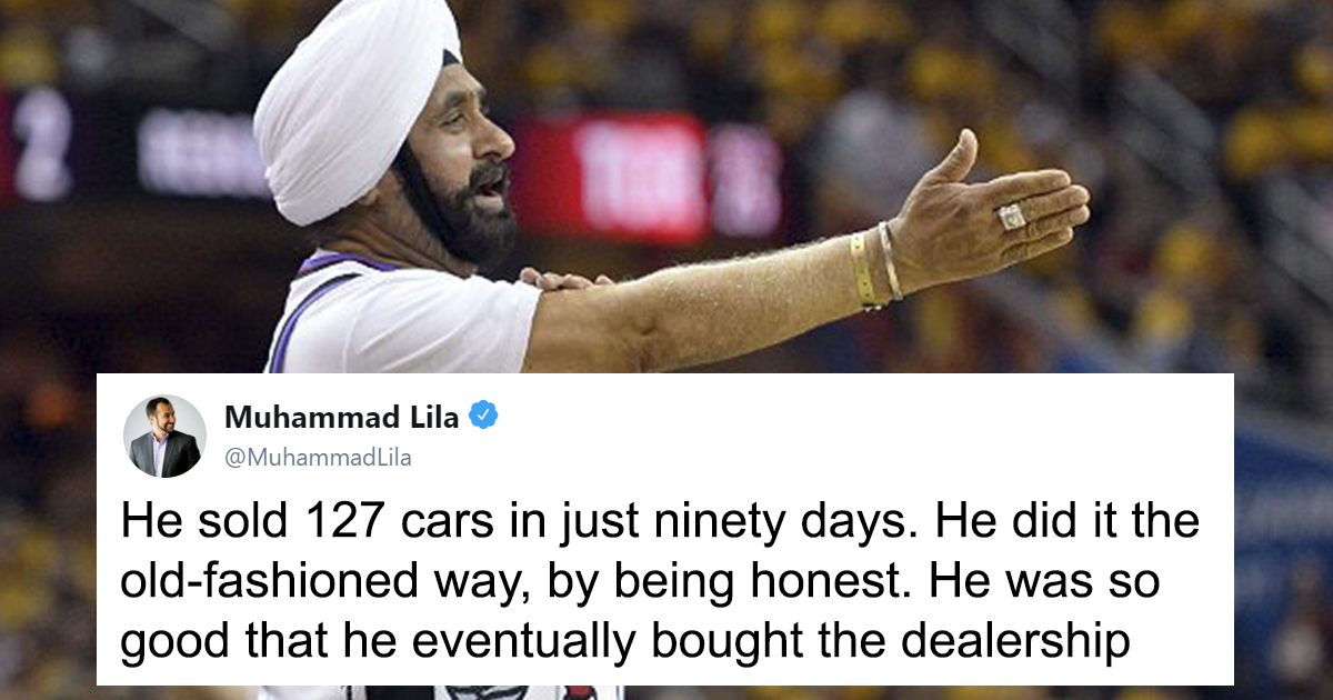 Guy on Twitter Posts Wholesome Story About An Immigrant Who Is a Huge Toronto Raptors Fan And The Internet Is Loving His Story