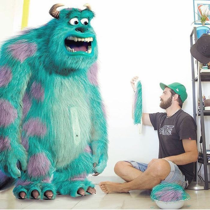 9. You sir Sulley, are very hairy!