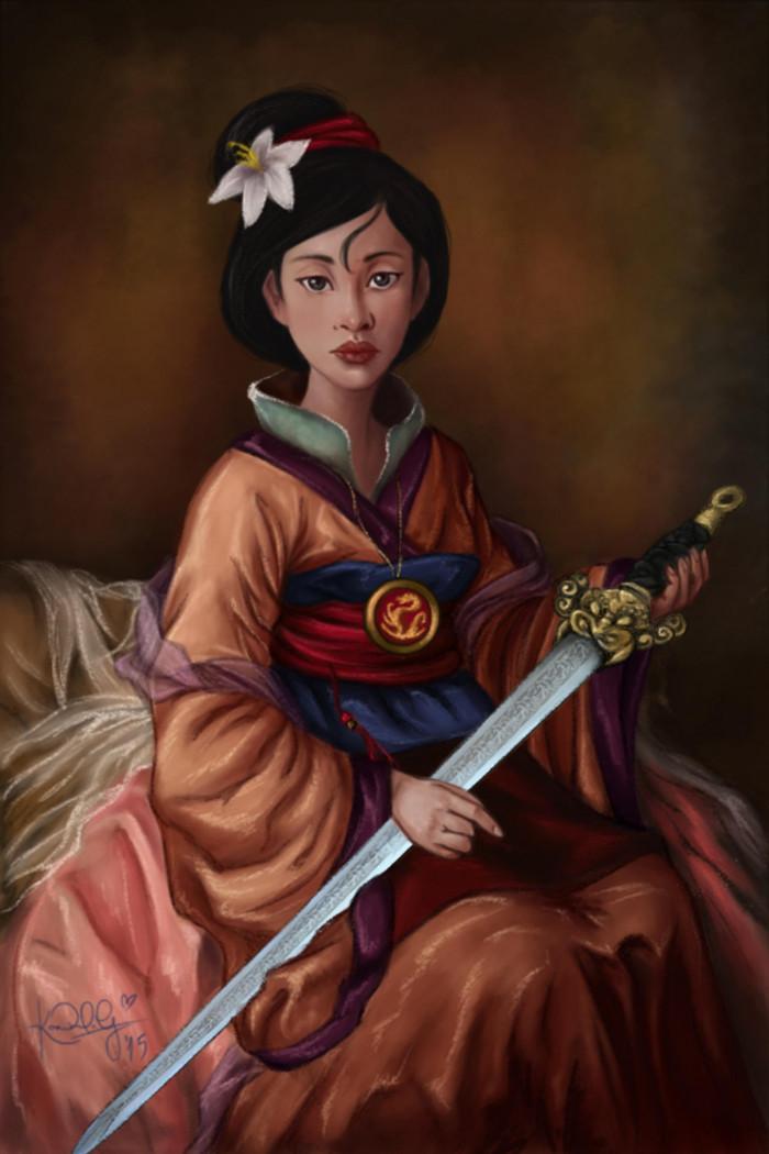 15. Fa Mulan
