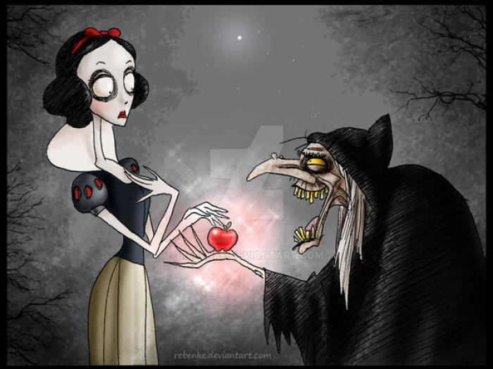 2. Snow White & The Evil Queen / Snow White and the Seven Dwarfs