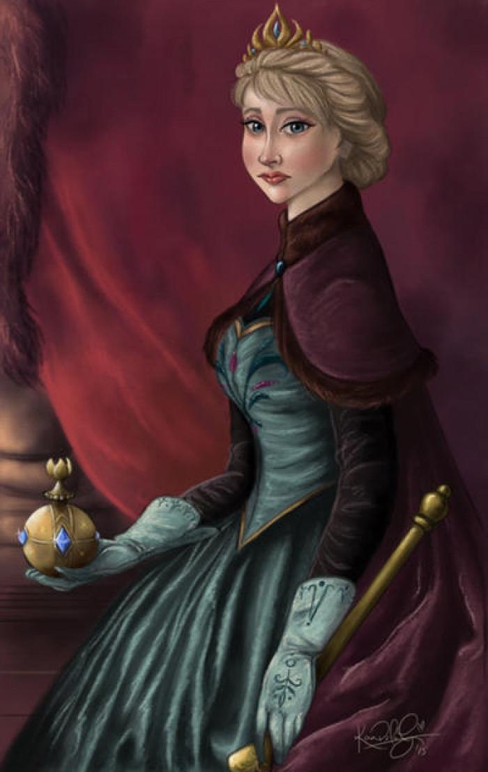 5. Queen Elsa of Arendelle
