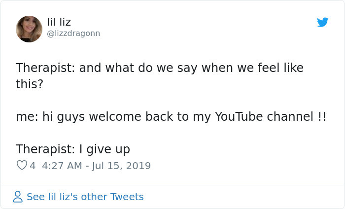 6. Youtube therapy
