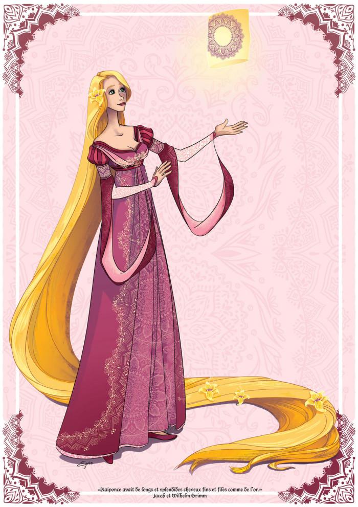 5. Rapunzel, Tangled