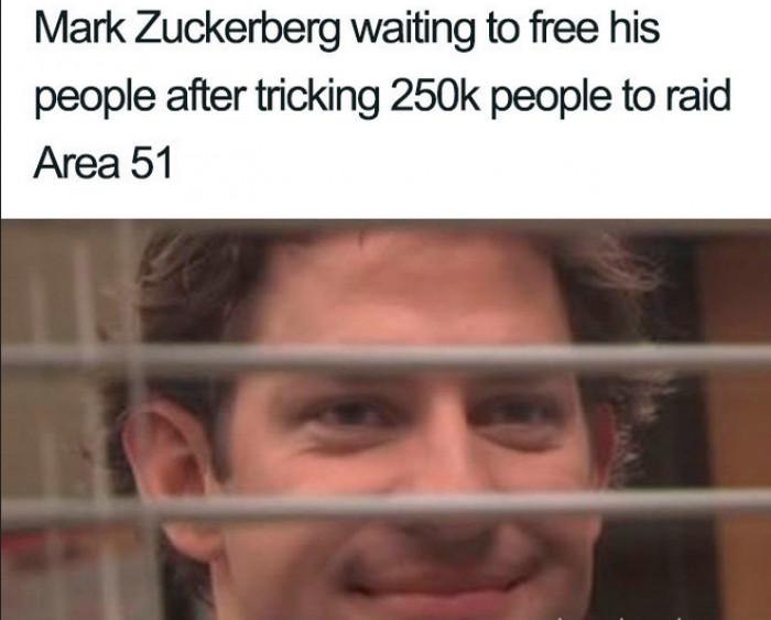 He waits.
