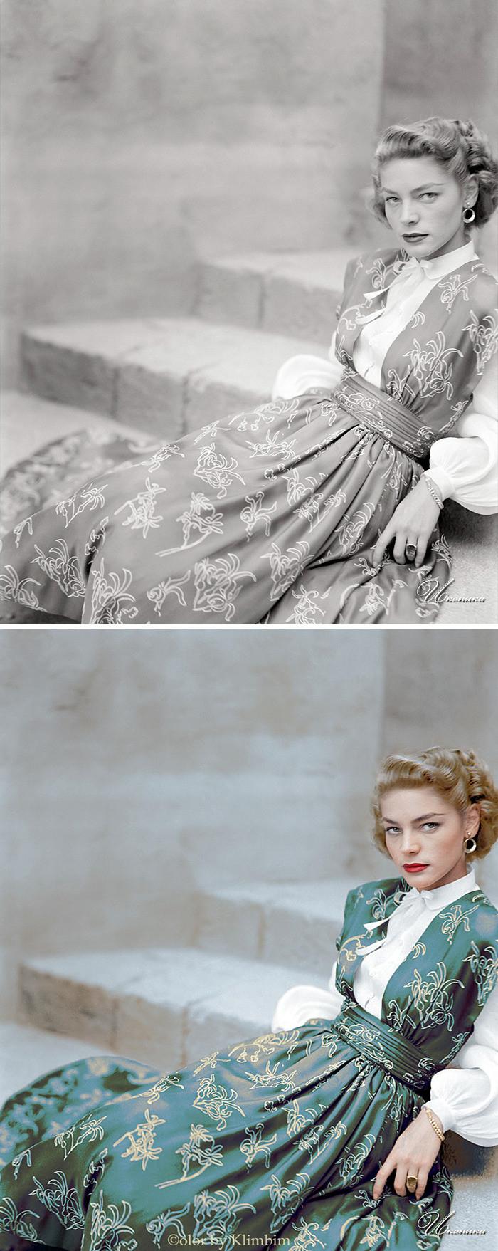#8 Lauren Bacall