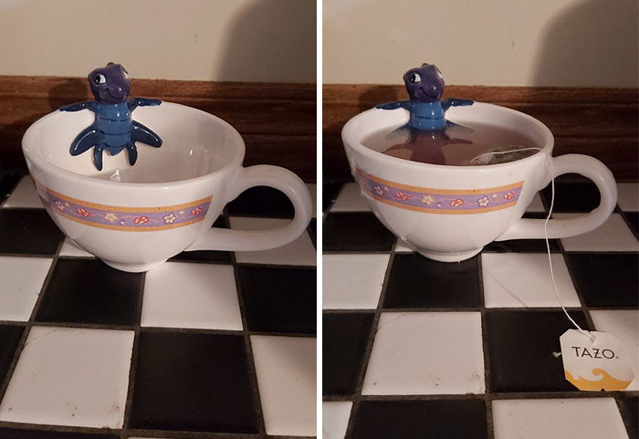 I try to avoid having bugs in my tea-cups...