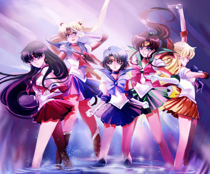 1. Sailor Senshi