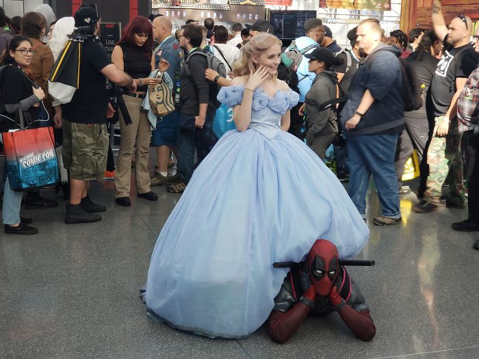 5. Deadpool and Cinderella