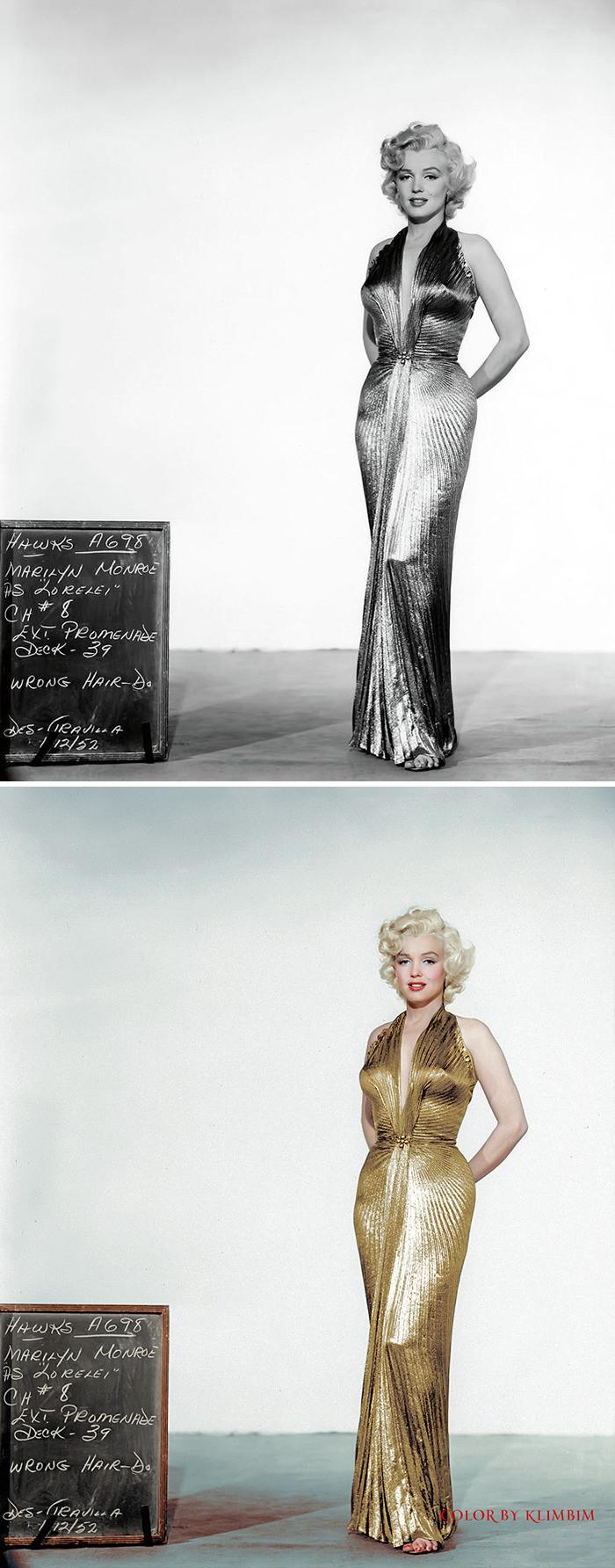#25 Marilyn Monroe