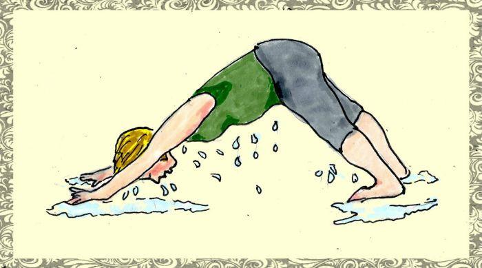 24. The struggles of yoga