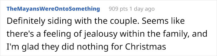 Yep, there's obviously feelings of jealousy