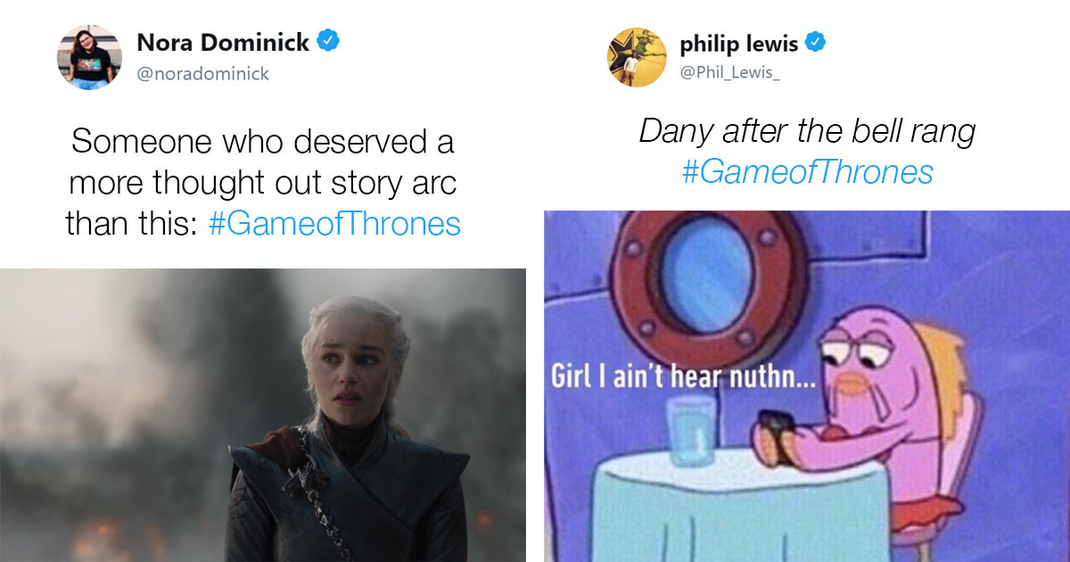 Savage Fan Reactions To 'Game Of Thrones' Finale