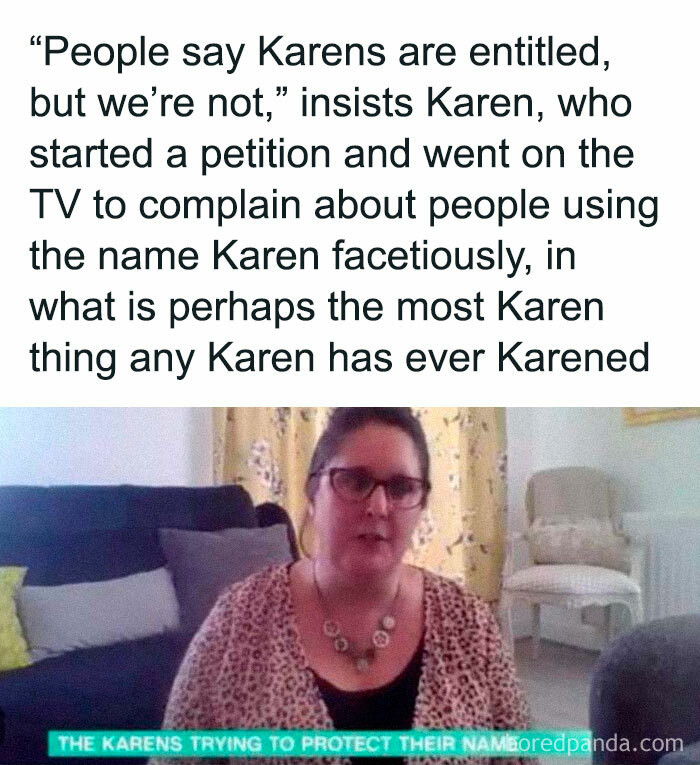 28. Oh, Karen....